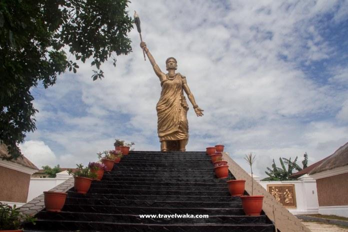 moremi statue