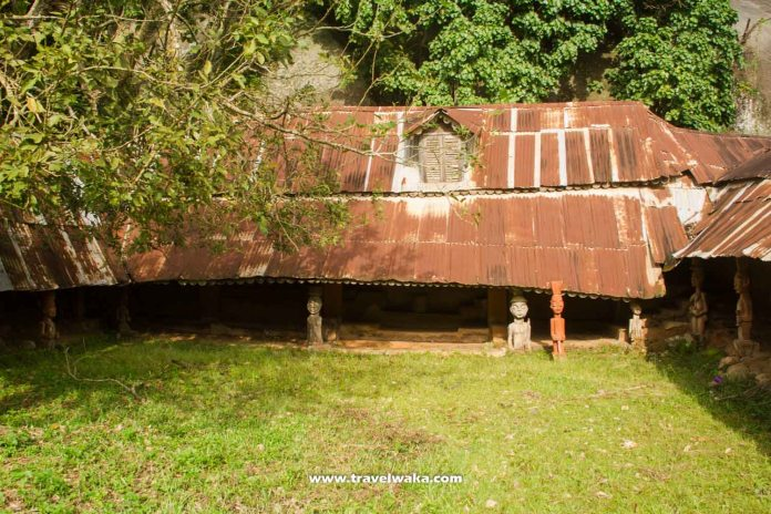 ancient palace at Idanre