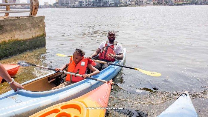 kayak in lagos