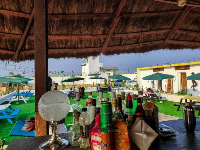 Beach restaurant in lagos
