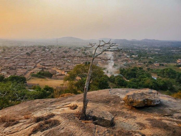 landscape at Ado awaye