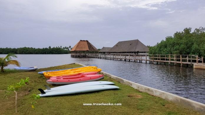 kayaking lagoon at casa