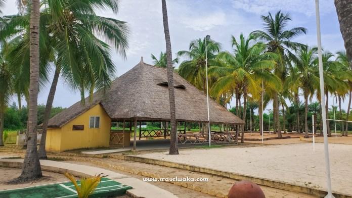 beautiful beach in the republic of benin