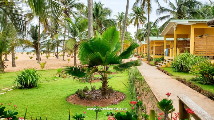 Beach view at Casa Del Papa