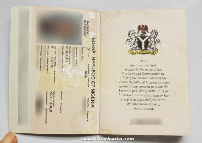 electronic passport nigeria