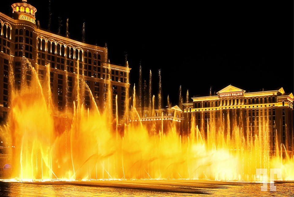Bellagio fountains show