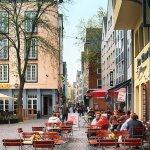 Photo: Cologne Germany sidewalk cafe