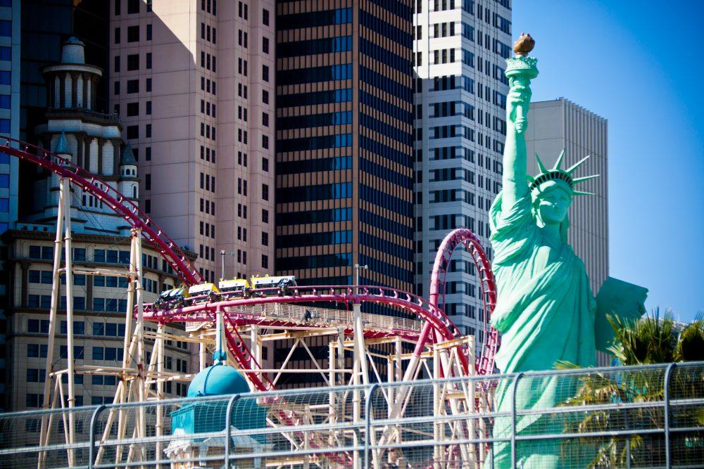 Las Vegas Strip is a Tour Around the World