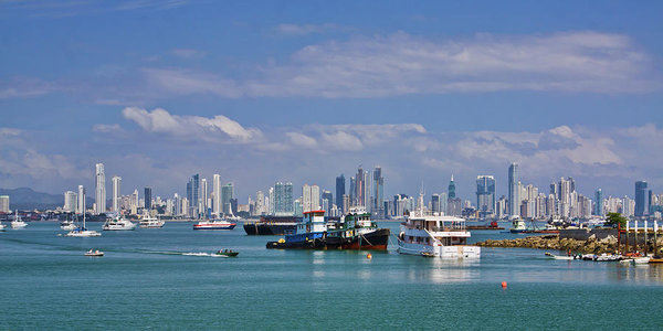 Panama City Panama Skyline