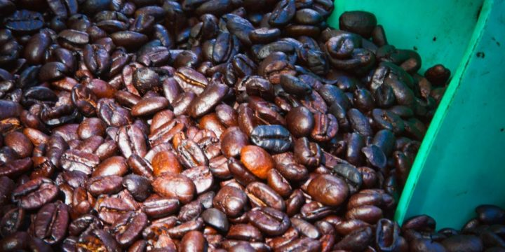 Veracruz coffee beans in Ajijik market