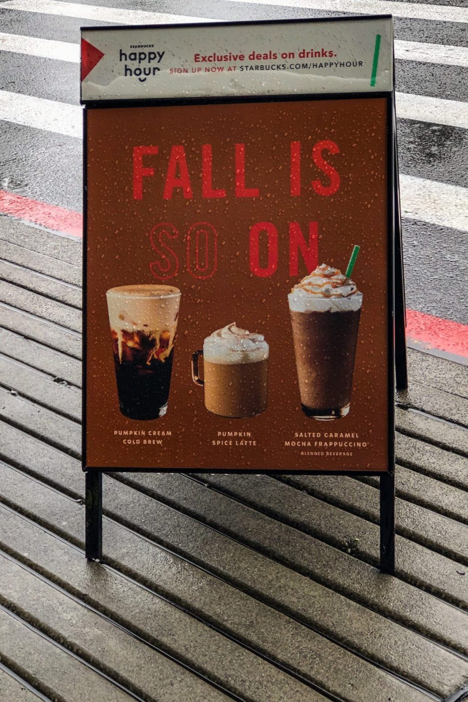Fall is so on sign