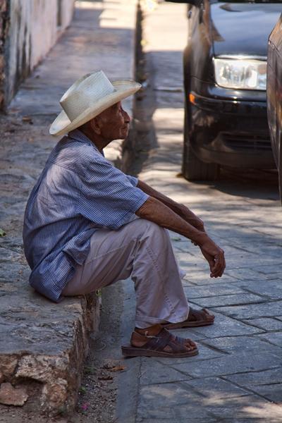 MEXICAN MAN IN MERIDA, MEXICO