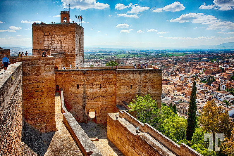 Alhambra Granada, Spain is a hot destination for thousand of tourists
