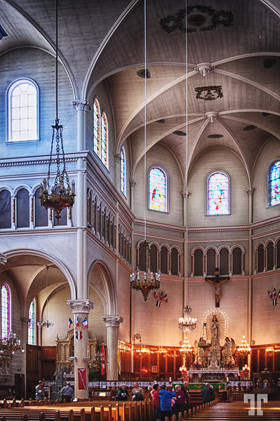 St. Mary Church, Nova Scotia - The largest wooden church in N. America