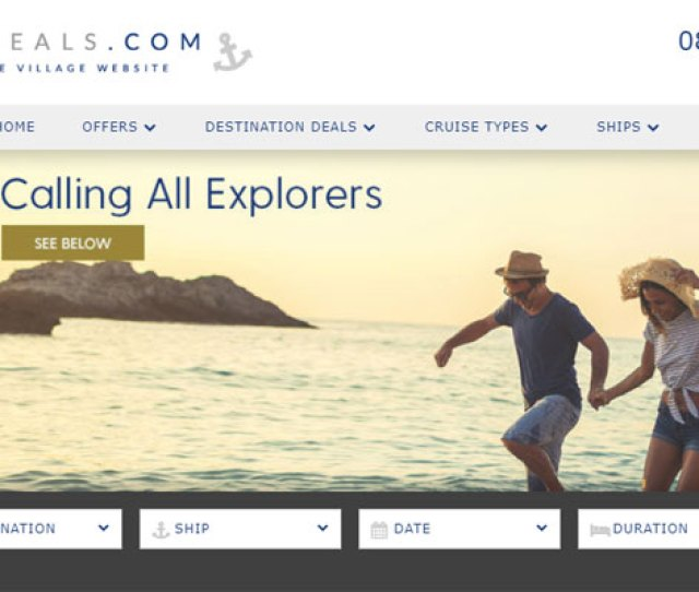 The Cruise Village Targets Po Cruises Sales With Revamped Site Travel Weekly