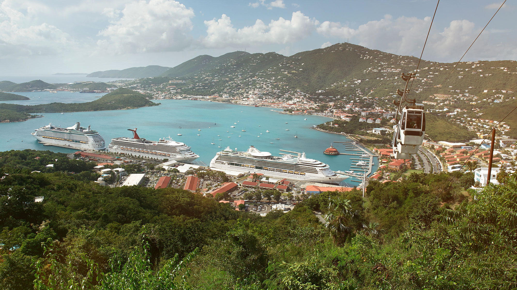 St. Thomas cruise port
