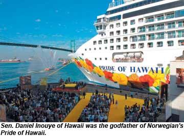 Pride Of Hawaii christening