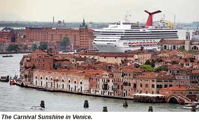 Carnival Sunshine Venice