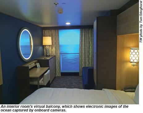 Quantum of the Seas interior cabin