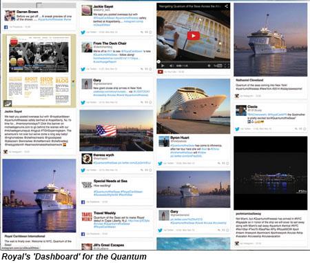 Royal Caribbean Dashboard Quantum of the Seas