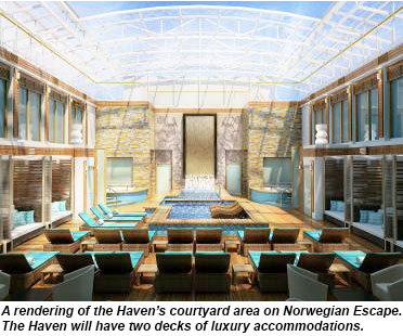 Norwegian Escape, The Haven