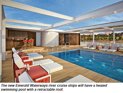 Emerald pool deck