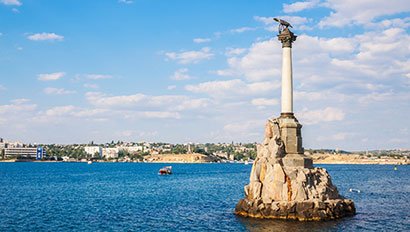 Sevastopol's Monument to Scuttled Ships