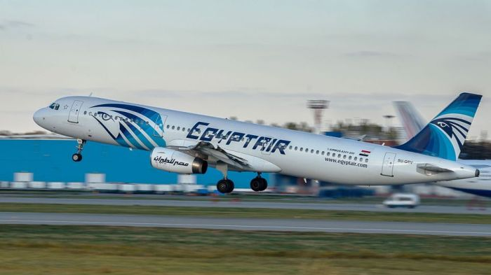 Egypt Air Plane Travel Wide Flights