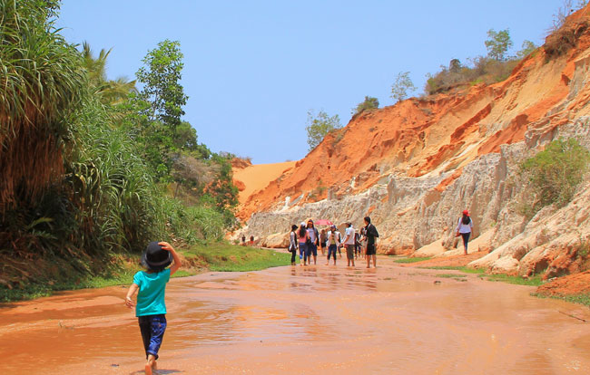 Fairy Stream and Sand Dunes—Mui Ne, Vietnam