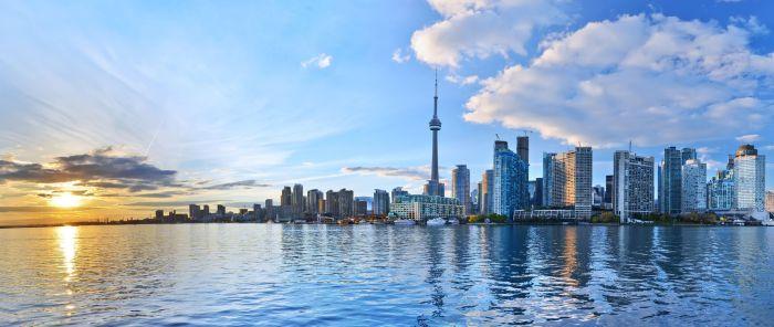 Toronto tarvel wide flights
