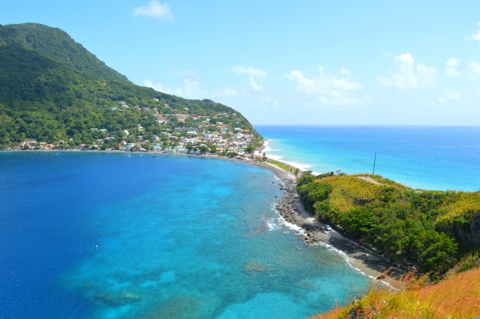 dominica travel wide flights