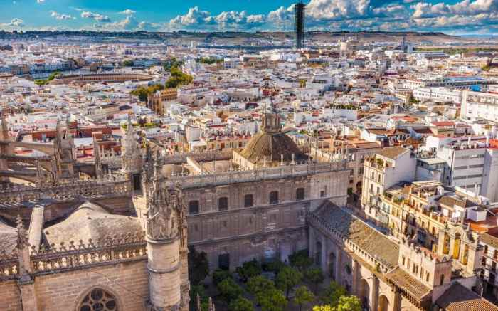 seville travel wide flights