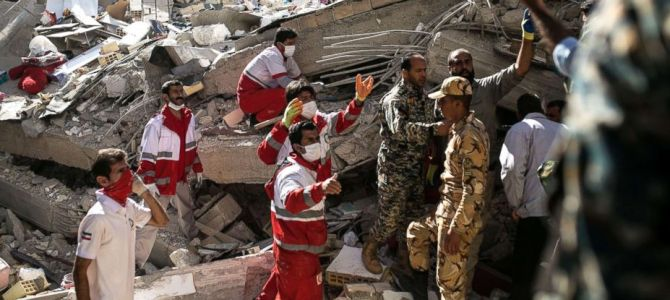 Iraq, Iran Bamboozled by 7.3 Earthquake