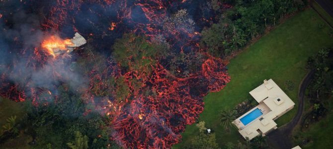 Hawaii Volcano Destroying Everything
