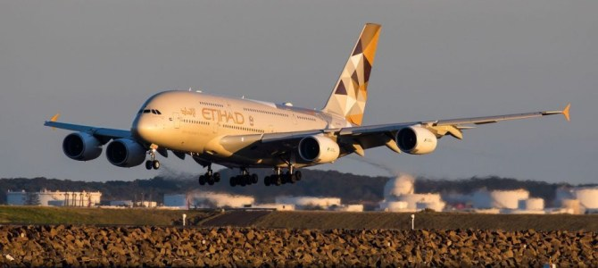 Etihad Airways records best on-time performance since 2010
