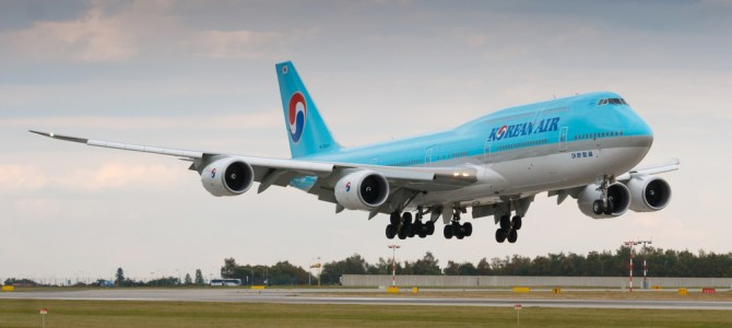 Korean Air celebrates anniversary with new livery