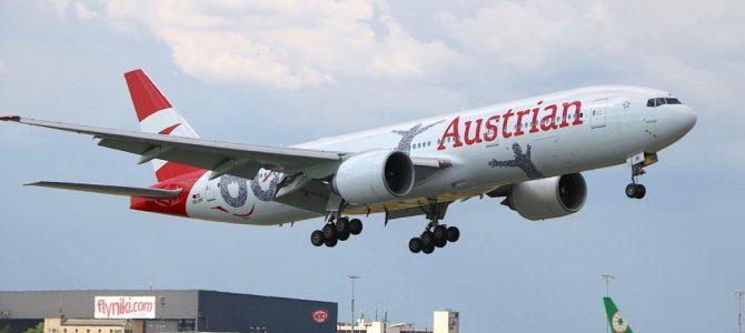 An Austrian airline launches retro Airbus A320
