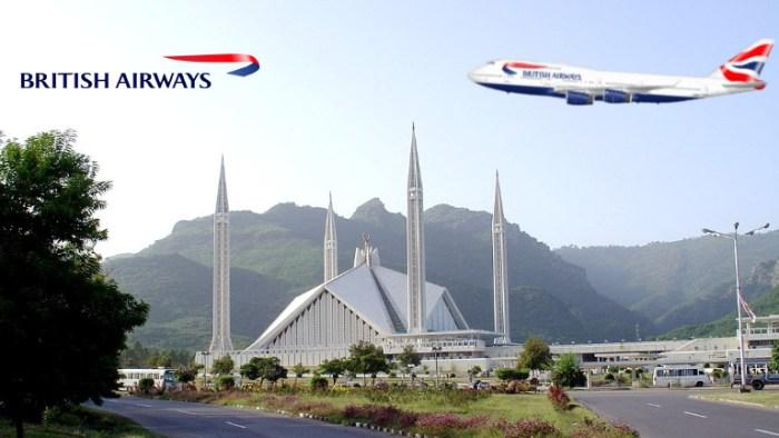 British Airways is launching flights to Islamabad in June 2019, TravelWideFlights