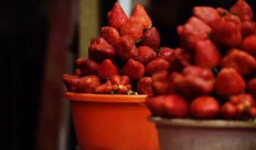 Strawberries-India