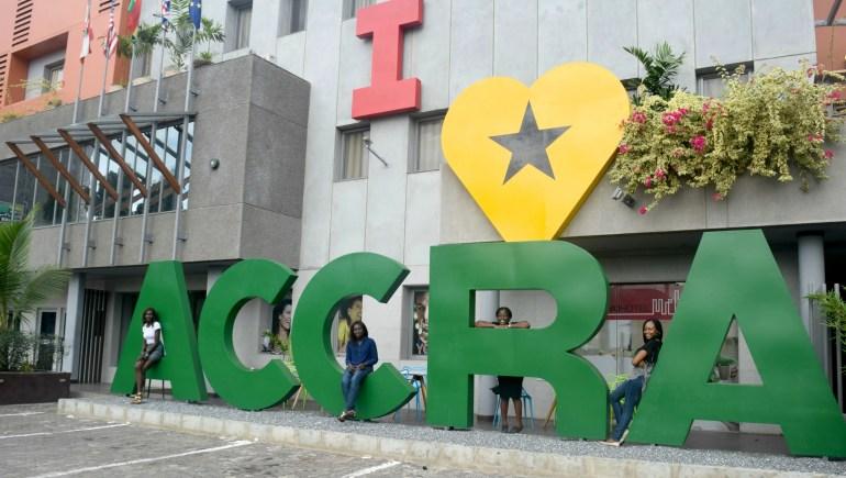 We love Accra