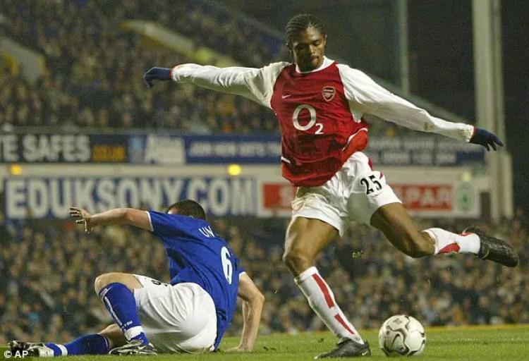 kanu nwankwo arsenal hat-trick 1999