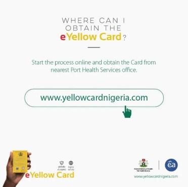 yellow card nigeria website