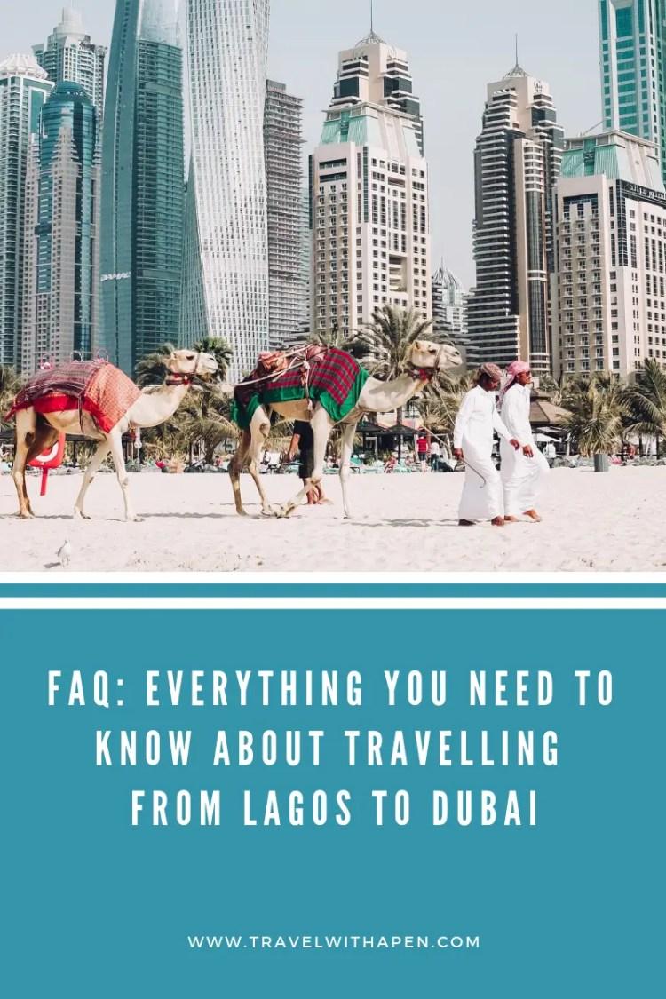 Lagos to Dubai
