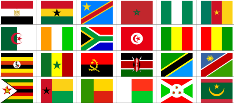 AFCON Qualifying Countries