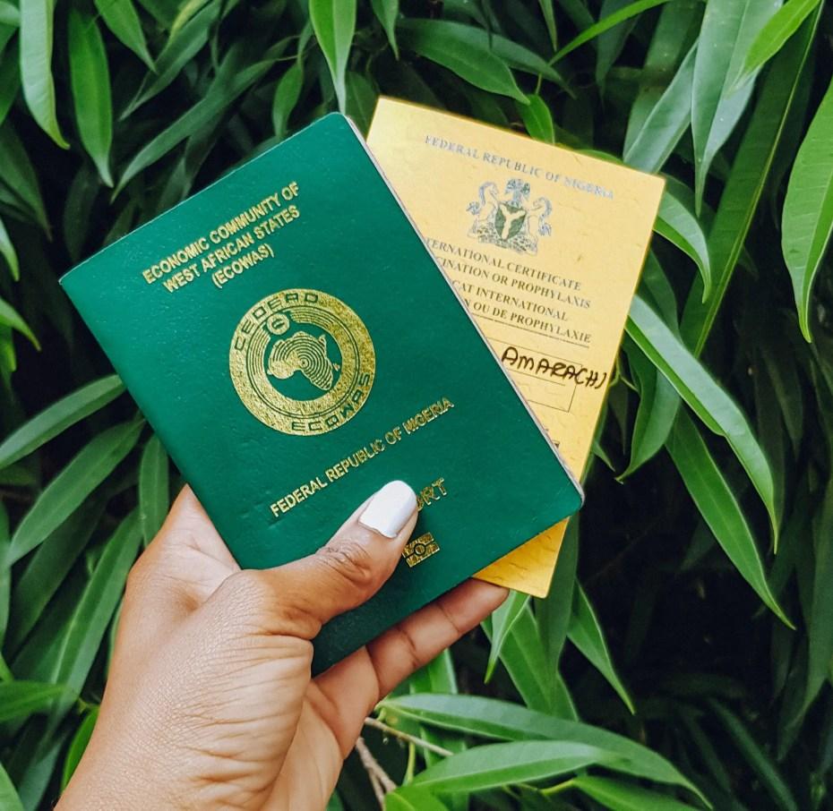 Nigeria Travel Guide Nigerian Passport Yellow Card