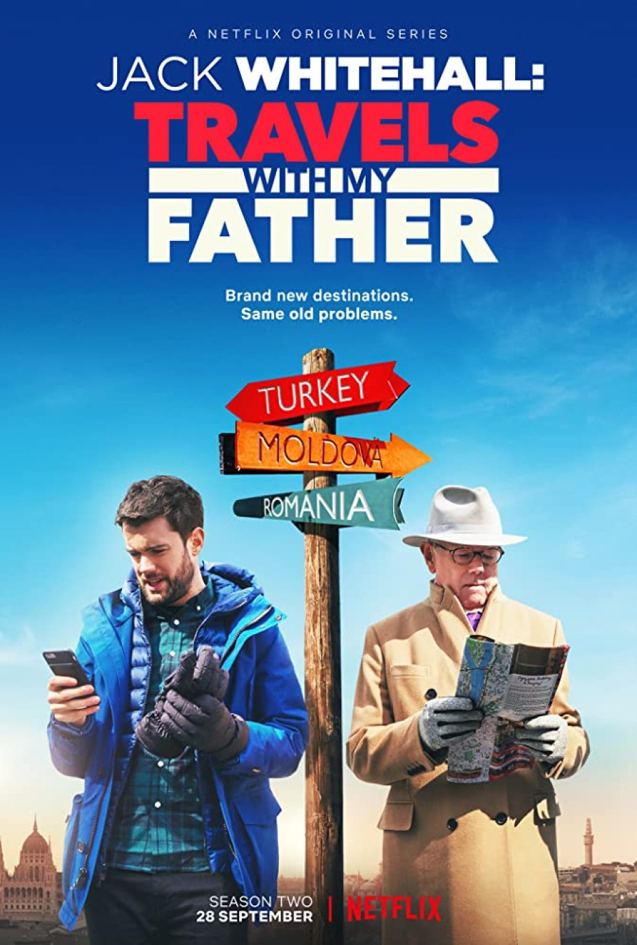 Jack Whitehall Travels with my Father Netflix