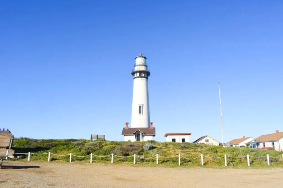 San Francisco to Monterey Pigeon Point Lighthouse