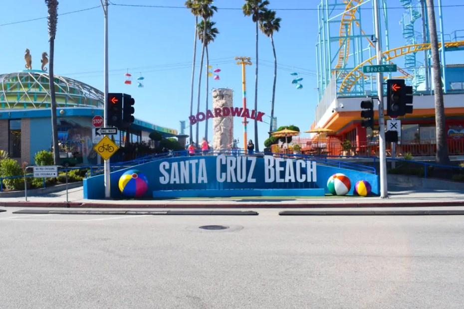 San Francisco to Monterey Santa Cruz Beach