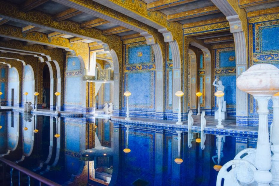 Hearst Castle Interior Pool