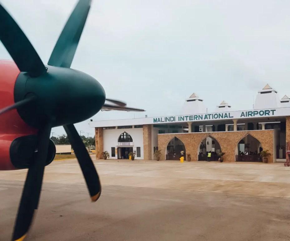 Jambojet Flight to Malindi Watamu